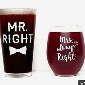 Other - Wine and beer glasses